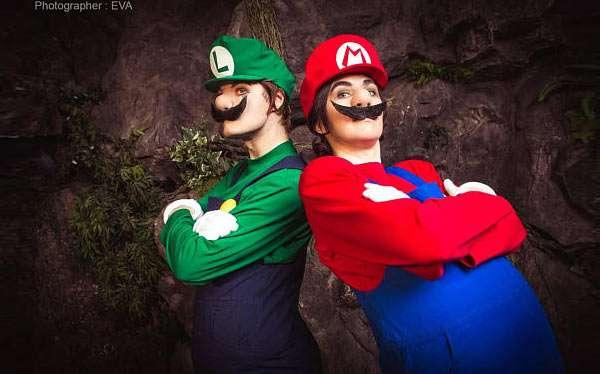 Etsy - Nintendo Super Mario & Luigi Kostüm selber machen