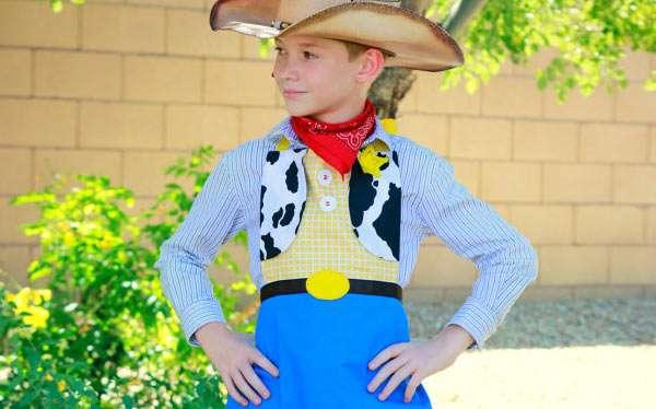 Toy Story Woody Kostüm selber machen