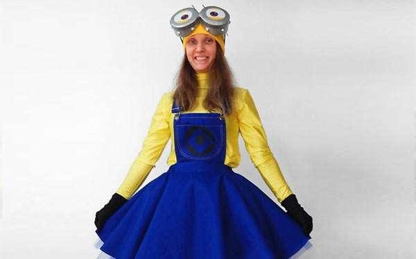 Minion Kostüm selber machen