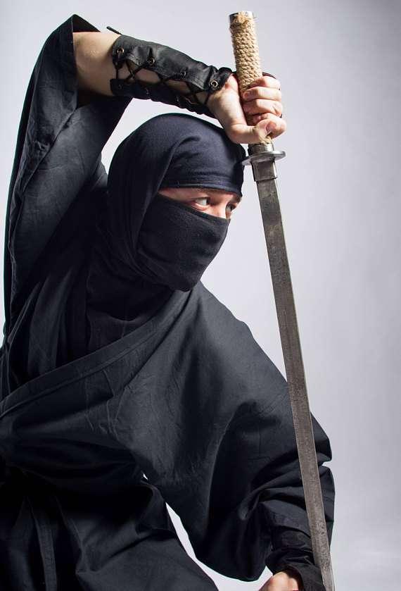 Etsy - Ninja Kostüm selber machen