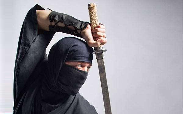 Ninja Kostüm selber machen