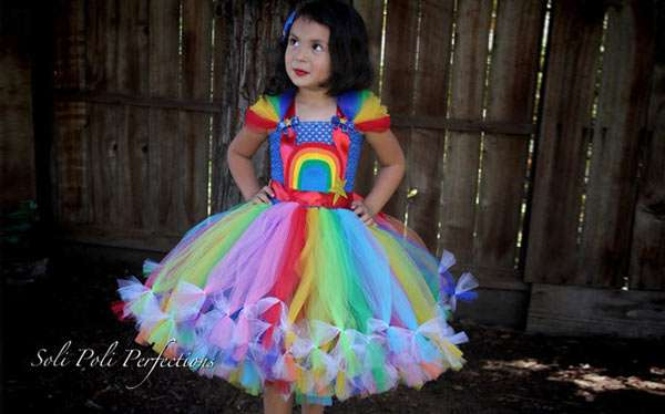 Regina Regenbogen Kostüm selber machen