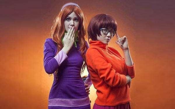 Scooby Doo Daphne Kostüm selber machen