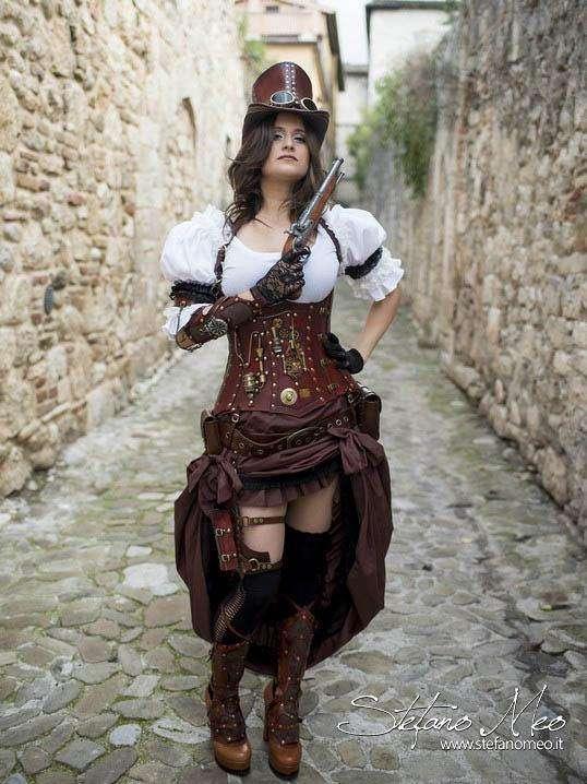 Etsy -Steampunk Kostüm selber machen
