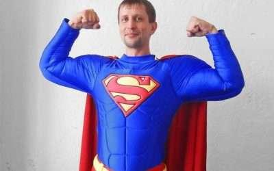 Superman Kostüm selber machen