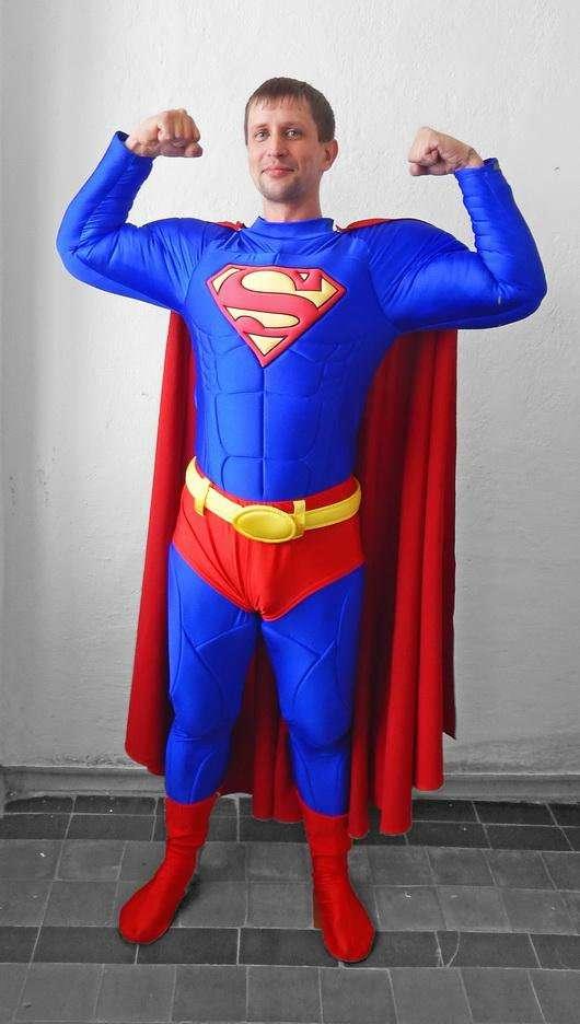 Etsy - Superman Kostüm selber machen