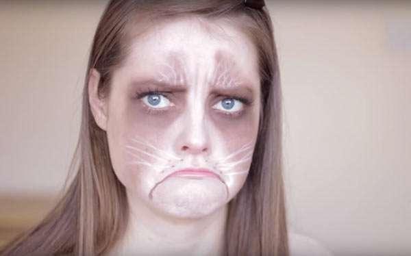 Grumpy Cat Kostüm selber machen