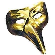 Amazon - Kostüm selber machen - Goldene Vogelmaske