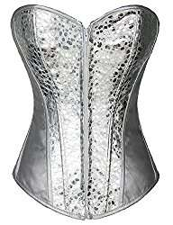 Amazon - Kostüm selber machen - Silberne Corsage