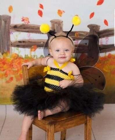 Etsy - Bienen Kostüm selber machen für Babies