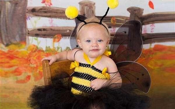 Biene Kostüm selber machen