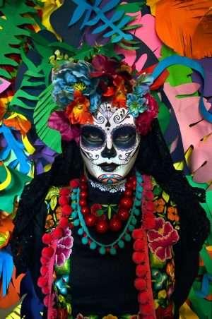 Etsy - Catrina Kostüm Masken selber machen