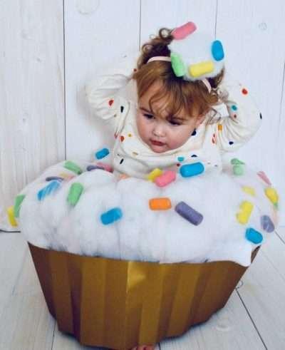 Etsy - Cupcake Kostüm für Babies selber machen