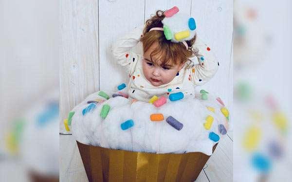 Cupcake Kostüm selber machen