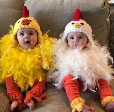Etsy - Huhn Kostüm für Babies selber machen