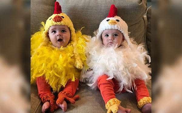 Huhn Kostüm selber machen
