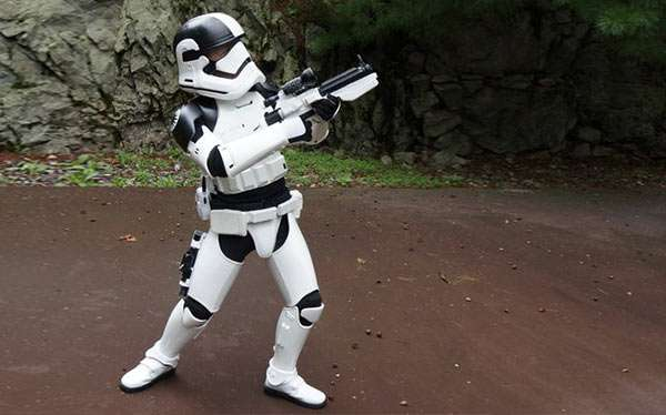Stormtrooper Kostüm selber machen