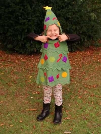 Etsy - Tannenbaum-Kostüm selber machen