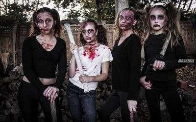 Zombie Kostüm selber machen