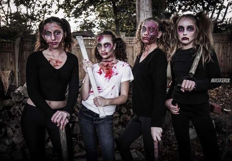 Gruselige Halloween Kostueme Zum Selbermachen.Halloween Kostume Selber Machen Diy Ideen Anleitungen Maskerix De