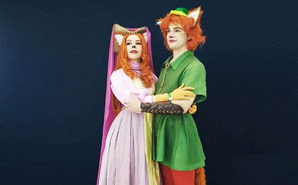 Fuchs Robin Hood Kostüm selber machen