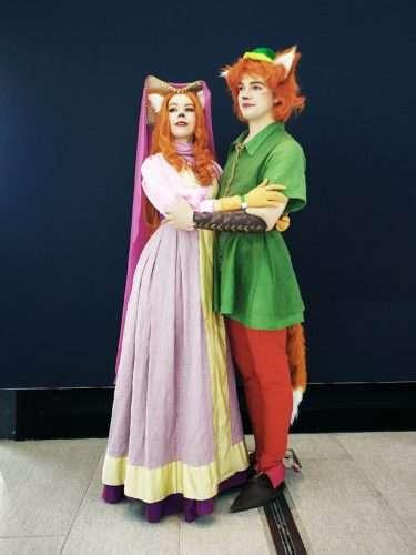 Etsy - Fuchs Robin Hood und Maid Marianne Kostüm selber machen