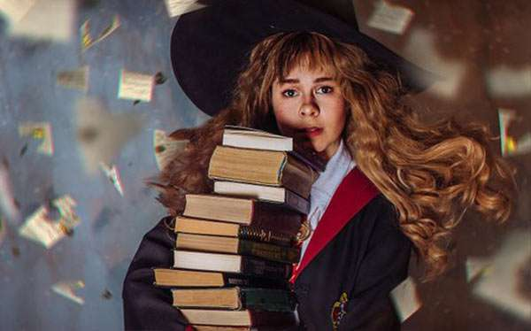 Harry Potter Hermine Granger Kostüm selber machen