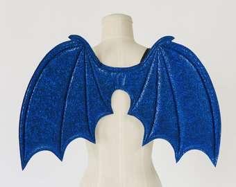 Etsy - Kostüm selber machen - Blaue Flügel