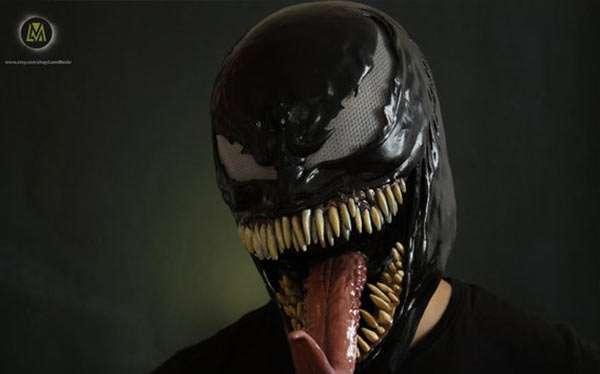 Spiderman Venom Kostüm selber machen