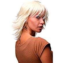 Amazon - Kostüm selber machen - Halblange blonde Perücken