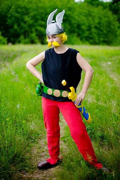 Etsy - Asterix Kostüm selber machen
