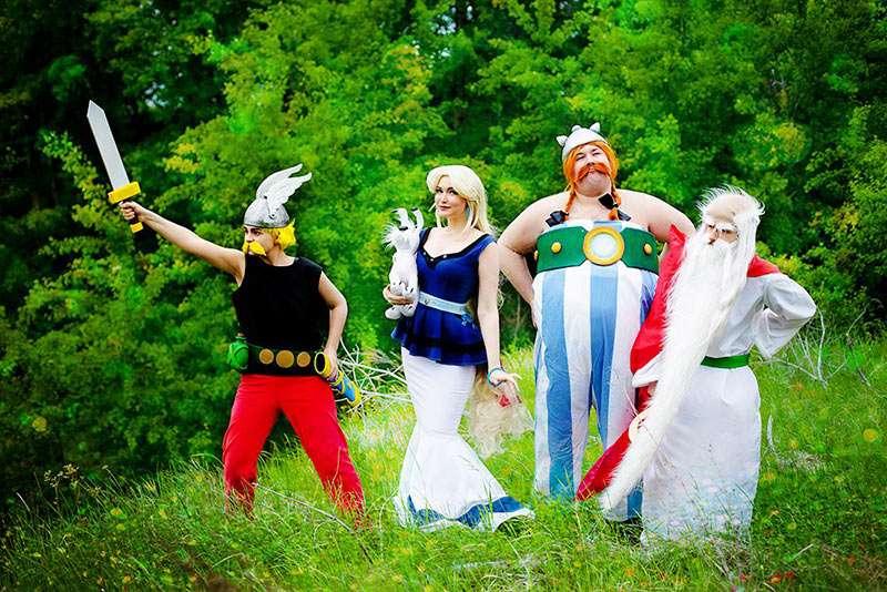 Etsy - Asterix & Obelix Kostüm für Gruppen selber machen