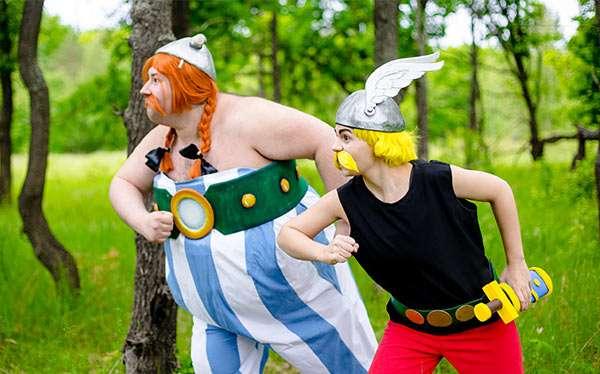Etsy - Obelix Kostüm selber machen