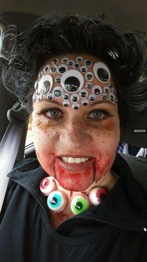 maskerix - Halloween Foto Contest 2018 - Alien