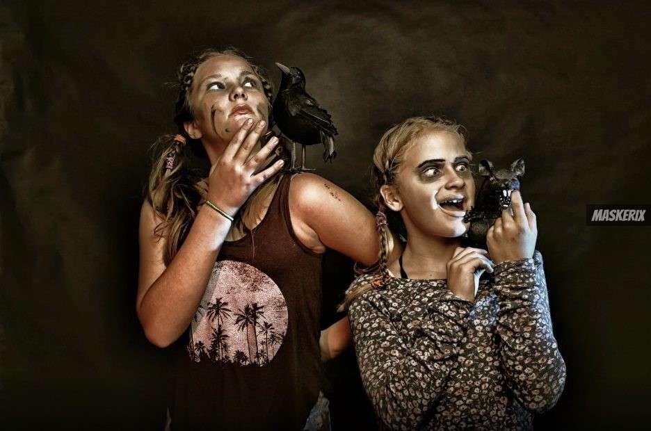 Kinder Zombie Kostüm selber machen