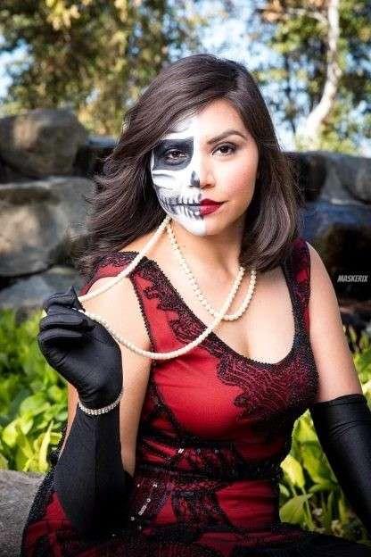 maskerix - Halloween Foto Contest 2018 - Skelett4