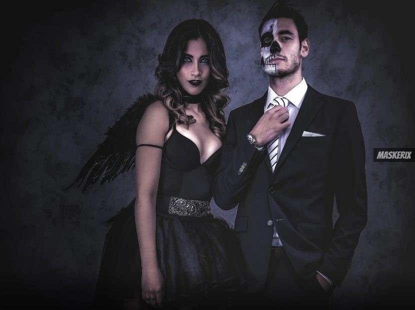 maskerix - Halloween Foto Contest 2018 - Todesengel:Skelett