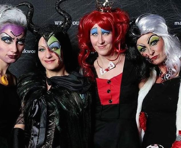 maskerix - Halloween Foto Contest - Gruppenfoto