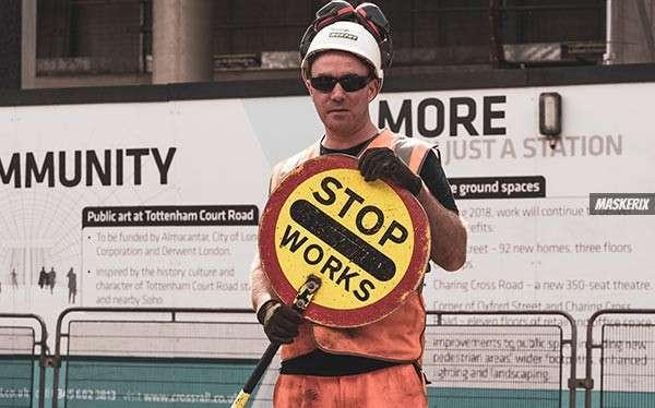 Bauarbeiter Kostüm selber machen
