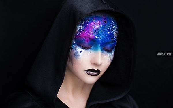 Galaxy Kostüm selber machen