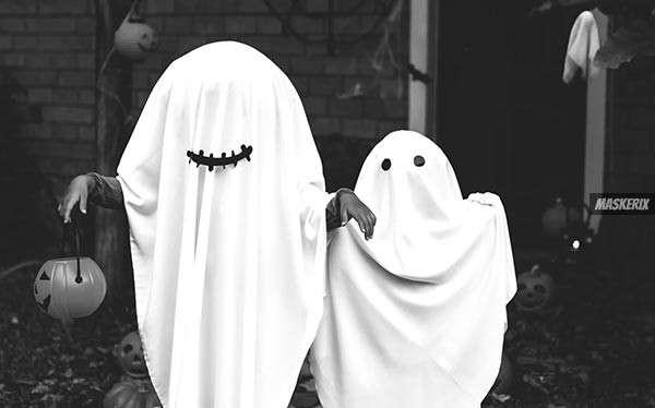 Gespenst Kostüm selber machen