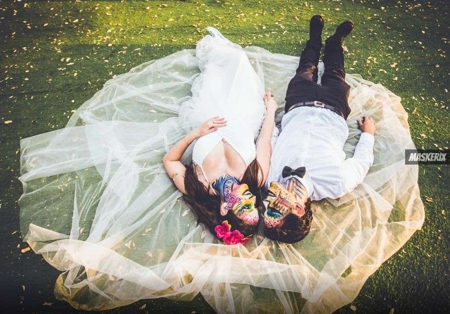 maskerix - Halloween Foto Contest 2018 - Brautpaar