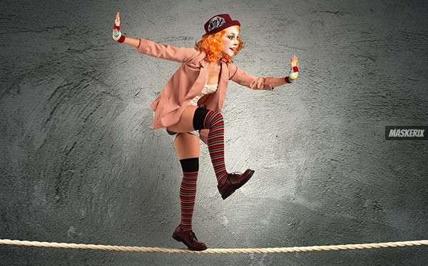 da0458e7c3f1c Lustiger Clown Kostüm selber machen | maskerix.de