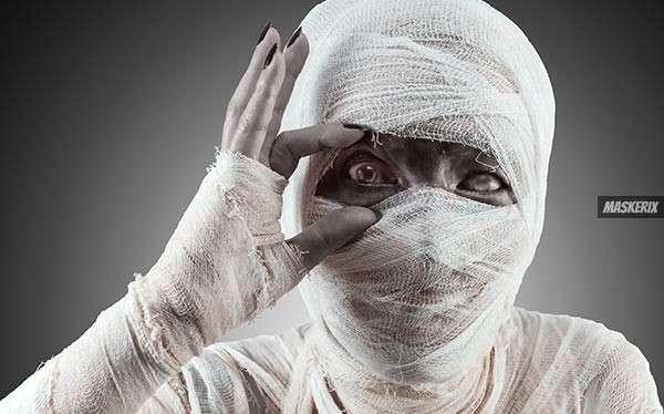 Mumie Kostüm selber machen