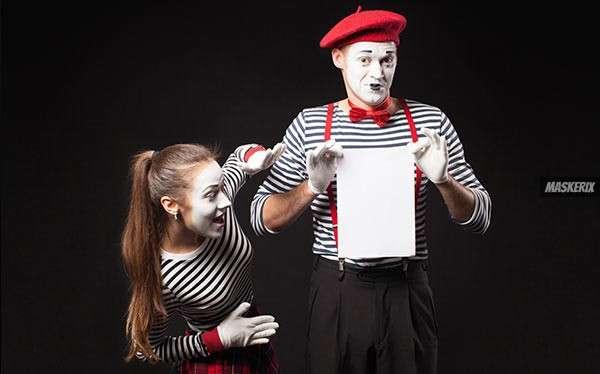 Pantomime Kostüm selber machen