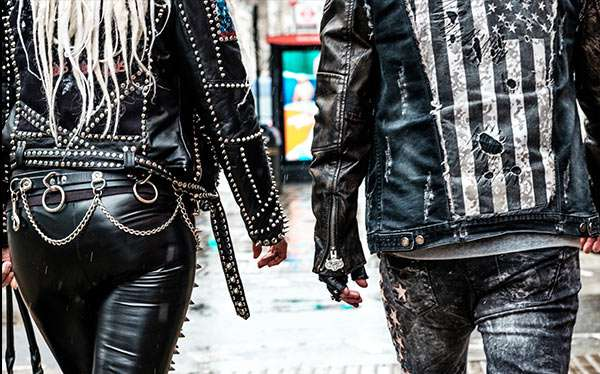 Punker Kostüm selber machen