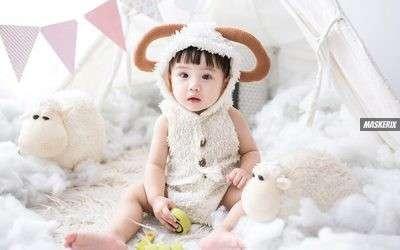 Schaf Kostüm selber machen