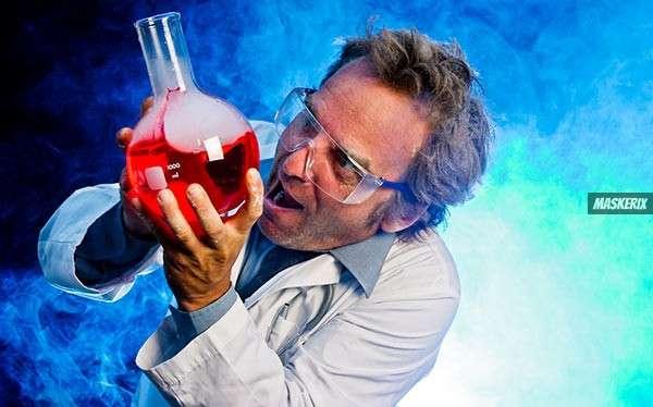 maskerix - Verrückter Wissenschaftler Kostüm selber machen