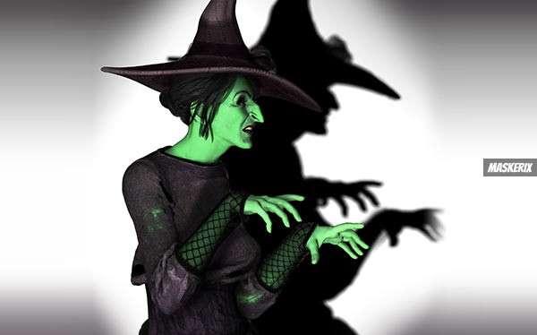Zauberer von Oz – Hexe des Westens Kostüm selber machen