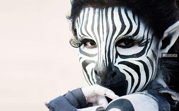 Zebra Kostüm selber machen